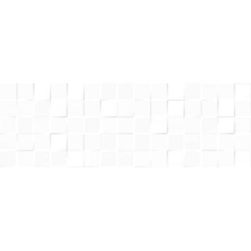 Keramika Kanjiza Joy Mosaic 3D White 20x60 csempe