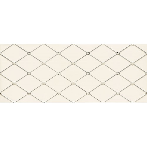 Ceramika Arte Senza White 29,8x74,8 dekor