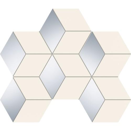 Ceramika Arte Senza White Hex 22,1x28,9 mozaik