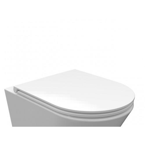 Arezzo Indiana Slim Soft Close lecsapódásmentes WC tető