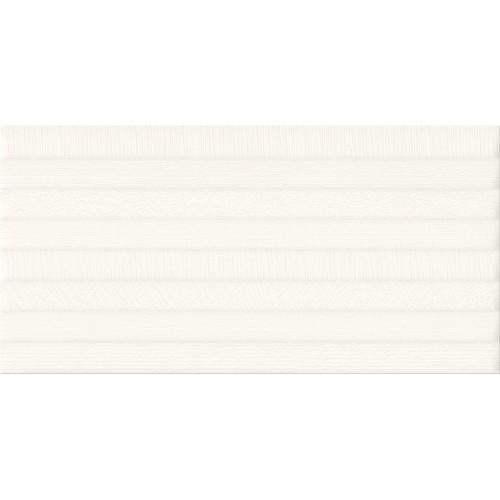 Cersanit PS801 White Satin Pattern Line STR 29,8x59,8 csempe