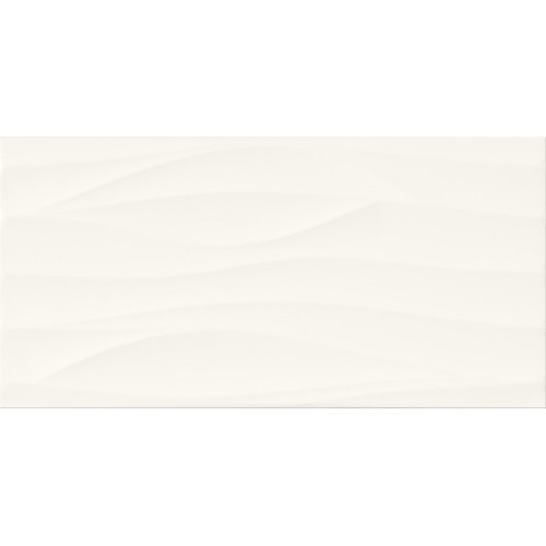 Cersanit PS800 White Wave Satin STR 29,8x59,8 csempe