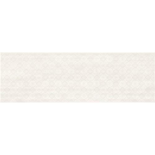 Cersanit Ferano White Lace Inserto Satin 24x74 csempe