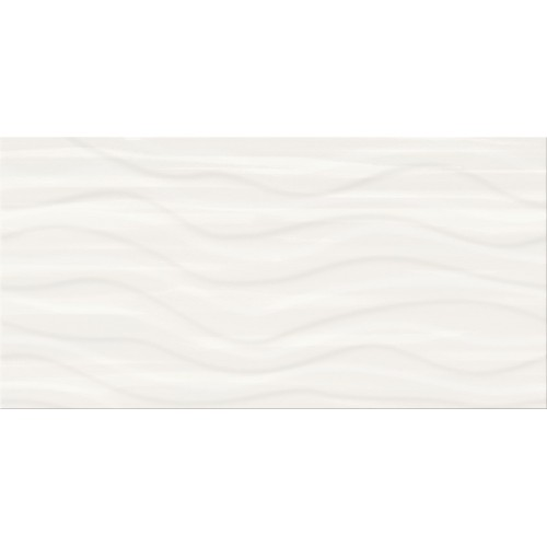 Cersanit PS803 White Satin Wave STR 29,8x59,8 csempe