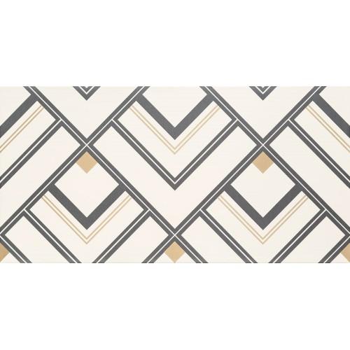 Domino D-Bonella White 30,8x60,8 dekor