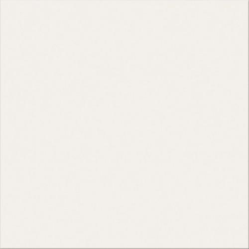 Opoczno White Satin 42x42 padlólap