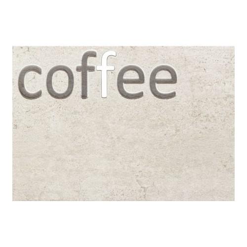 Domino Gris Coffe 25x36 dekor csempe