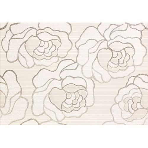 Arté Kiribati Flower Szara (Grey) 25x36 dekor csempe