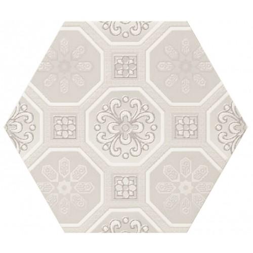 Cifre Ceramica Composicion Vodevil White 17,5x17,5 dekor csempe szett (3 db)