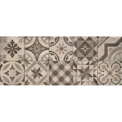 Cifre Ceramica Decor Montblanc Pearl 20x50 fali csempe
