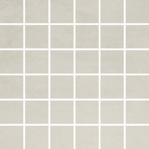 Opoczno Concrete Flower Light Grey Mosaic 29,7x29,7 padlólap