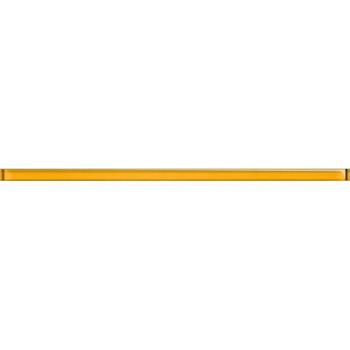 Cersanit Muzi Glass Yellow Border 2x60 dekor csík