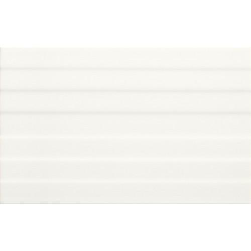 Cersanit Loris White Structure PS201 25x40 csempe