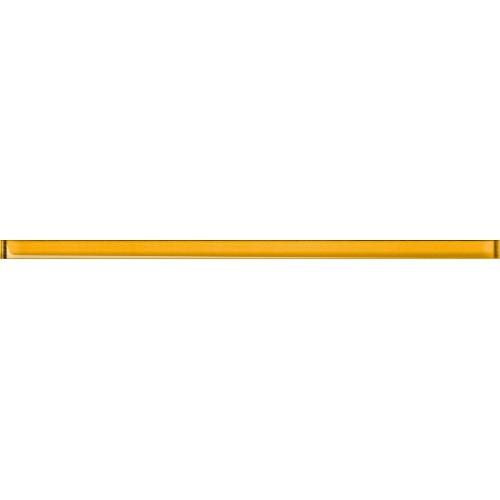 Cersanit Elfi Glass Yellow Border 1,5x40 dekor csík